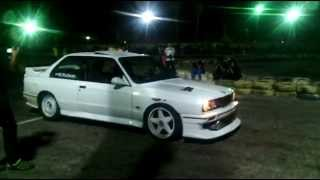 mohamed radwan by bmw e30 turbo drift in icc r2 3 10 2014