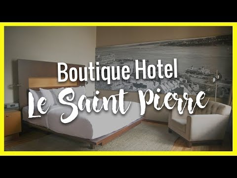 "Boutique Hotel Review of ""Le Saint Pierre Auberge"" in Quebec City, Canada"