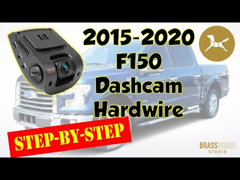 2015-2018 Ford F150 Rexing Dashcam Hardwire Installation
