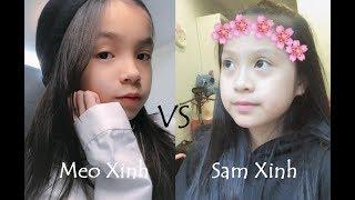 | Thách đấu Muvik #13 | Meo Xinh vs Sam Xinh || Yeww MUVIK
