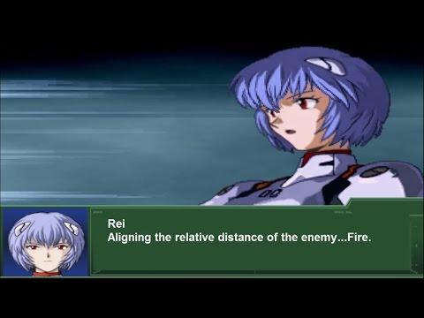 Super Robot Wars Alpha 3 - Evangelion Unit-00 All Attacks (English Subs)