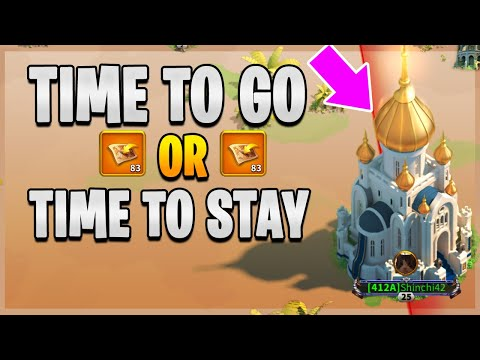 Leave or Stay? [ What is Next for Shinchi42 ] Migrate in RoK? | Rise of Kingdoms