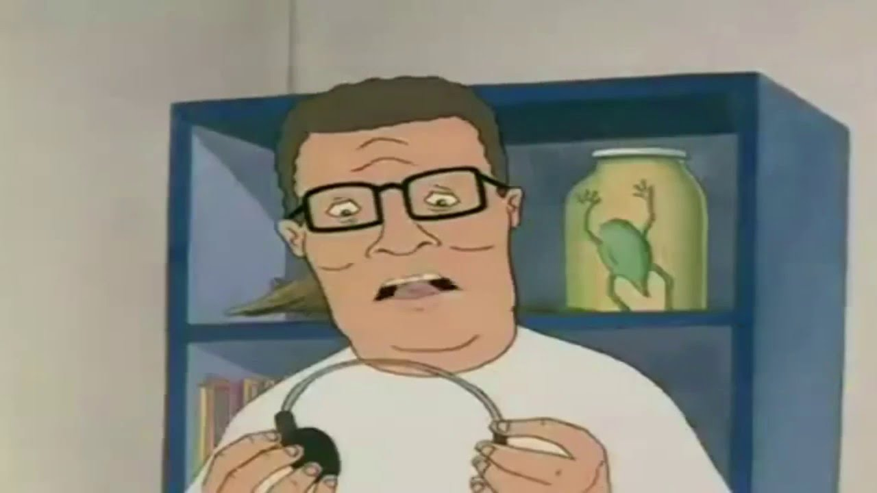 Hank Hill Listens To Its Hip To Fuck Bees Youtube