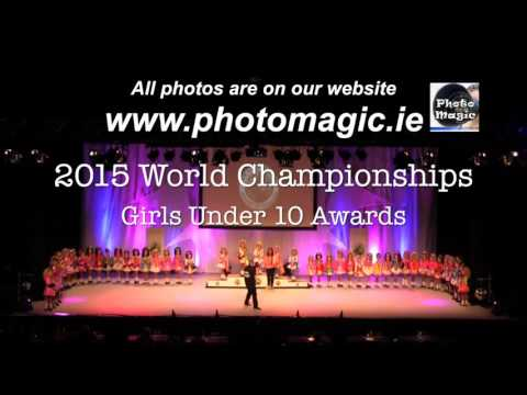 Irish Dancing Globe Championships Below 10 Women Awards & 11 Boys