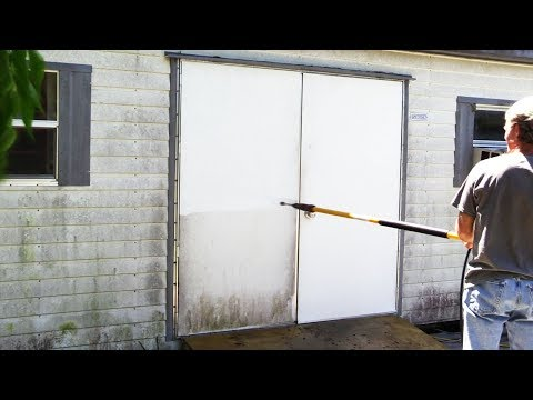 Timelapse Whole Shed Pressure Washing
