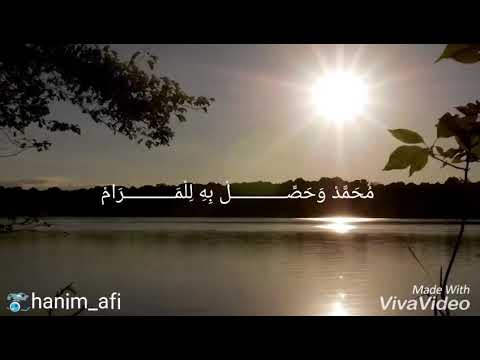 Sholawat Muhammad Wahashil Bihi Lil Marom