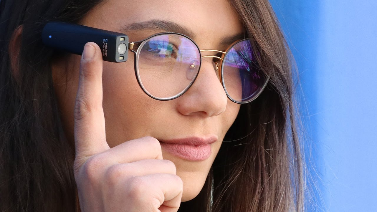 The OrCam MyEye 2.0 Allows the Blind to Interact with the World More Than Ever Before