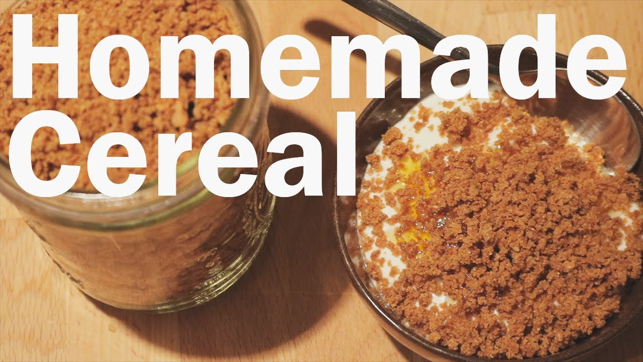 How to make your own cereal from scratch youtube how to make your own cereal from scratch ccuart Choice Image