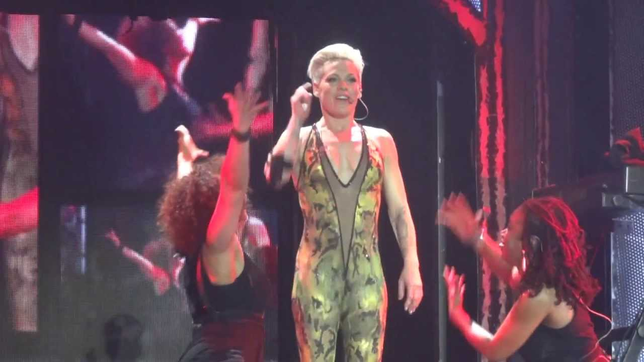 Download P!NK - SO WHAT - THE TRUTH ABOUT LOVE TOUR - MUNICH GERMANY - MAY 19