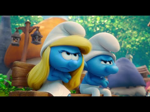 Smurfs: The Lost Village - Smurfette Trying To Grouch