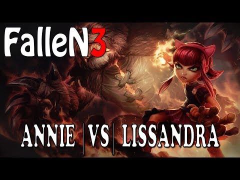 Annie VS Lissandra - Ranked Gameplay (FalleN3)