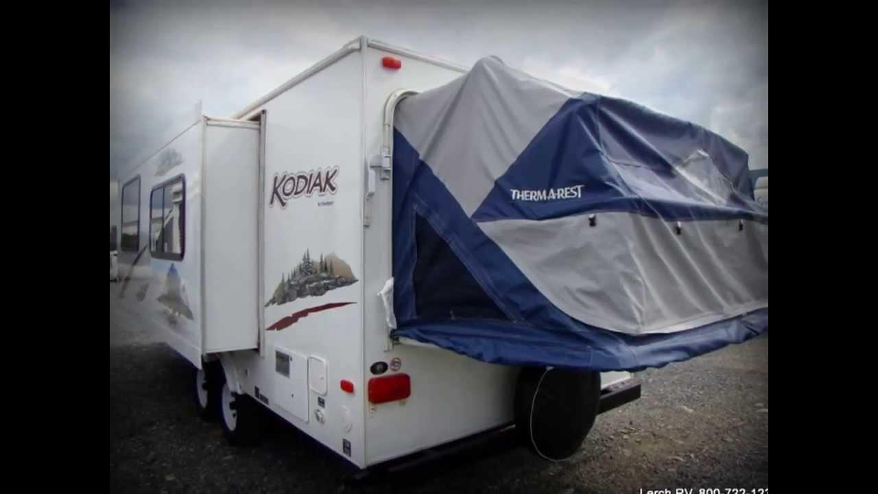 Used 2009 Dutchmen Kodiak 214 Hybrid Travel Trailer Rv For