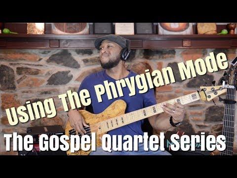 USING THE PHRYGIAN SCALE - JERMIANE MORGAN TV - GOSPEL QUARTET SERIES