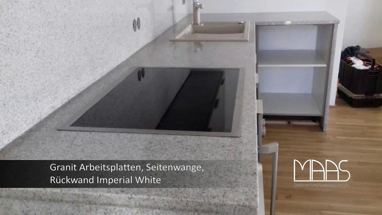 Frankfurt Am Main Imperial White Granit Arbeitsplatten Seitenwangen