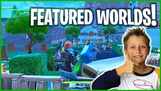 Reviewing the FEATURED WORLDS in CREATIVE!