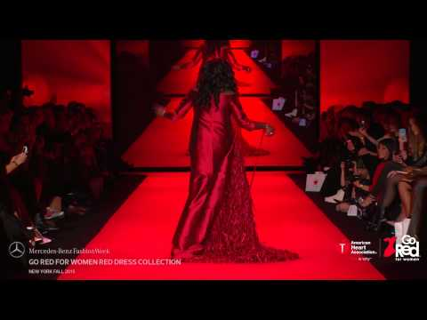 GO RED FOR WOMEN RED DRESS COLLECTION MERCEDES-BENZ FASHION WEEK FW 2015 COLLECTIONS