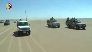 شاهد.. اقتحام القوات المسلحة لأخطر بؤرة إرهابية بالواحات البحرية