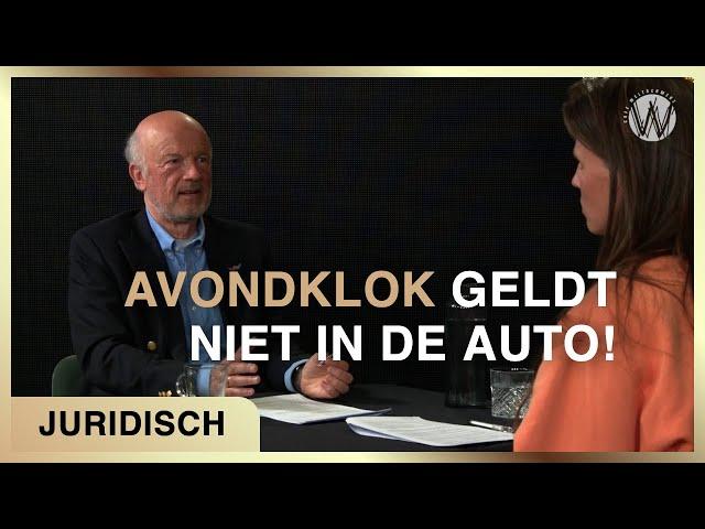 """""""Avondklok geldt niet in de auto!"""" - Juridisch coronajournaal #4"""