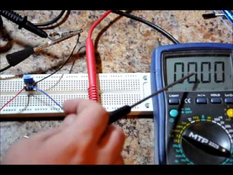Electronic Tutorial Use A Potentiometer Variable Resistor As A