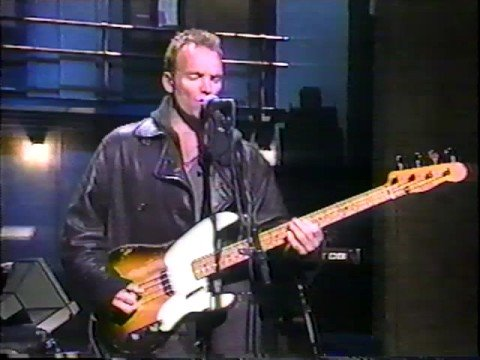 Sting : Seven Days (Letterman Show 02-28-1994)