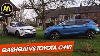 Toyota C-HR VS. Nissan Qashqaï : hybride ou diesel ?