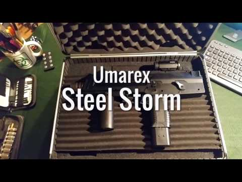 Non-Lethal Self Defense Demo: Umarex Steel Storm