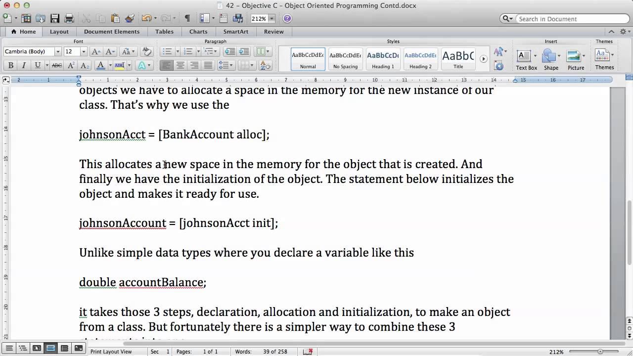 Objective c tutorials 45 alloc and init methods of a class youtube objective c tutorials 45 alloc and init methods of a class baditri Image collections