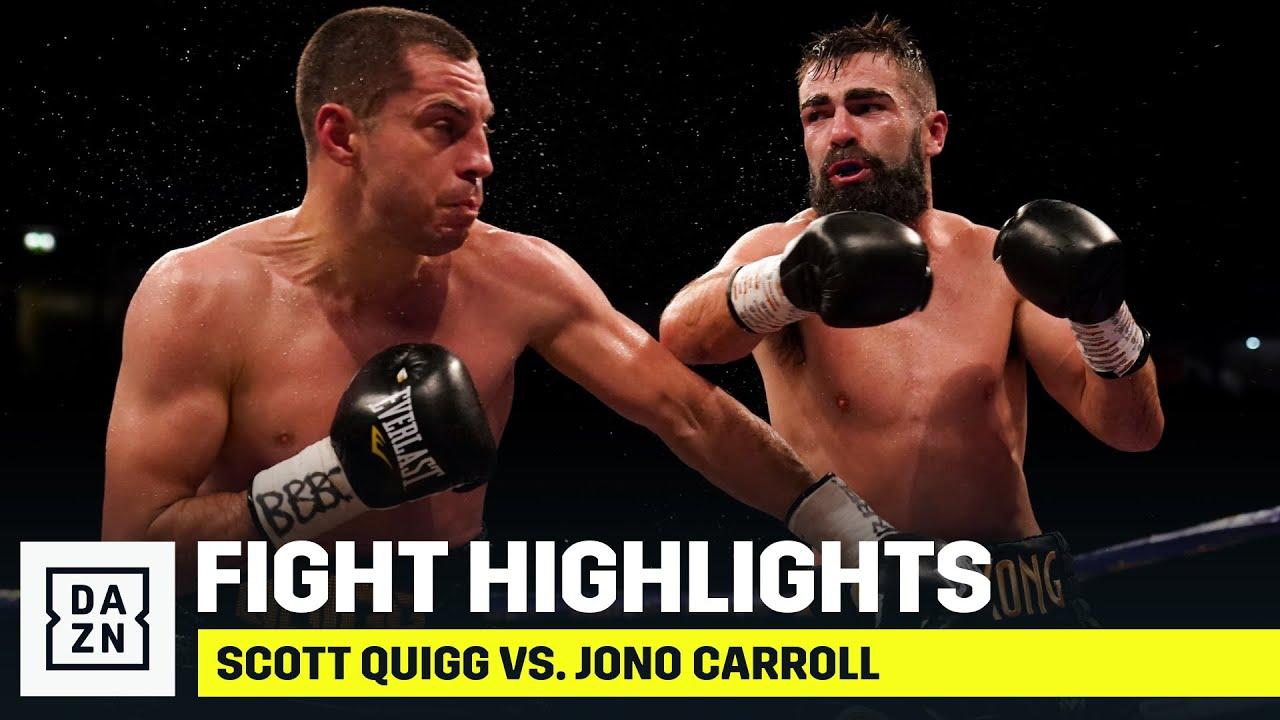 Скотт Куигг - Джоно Кэрролл / Scott Quigg vs. Jono Carroll - highlights