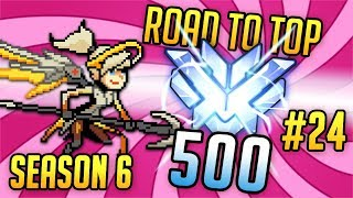 New Mercy + playing on US servers = ??? - A Mercy's Road to Top 500 - Episode 24 (Lijiang, Dorado)