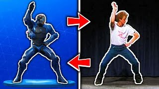 ALL FORTNITE DANCES IN REAL LIFE ( Season 1 - Season 4 ) Reaction