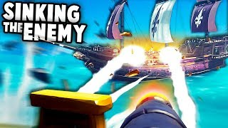 Hunting PIRATES and Krakens! Epic Pirate Ship Duels! (Sea of Thieves Mutliplayer Gameplay)