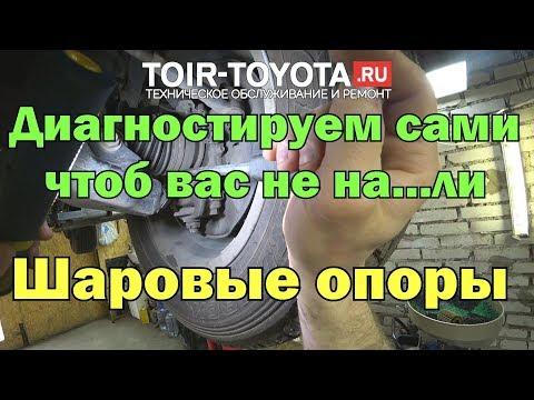 """Рубрика """"Диагностика без обмана"""" Шаровые опоры."""