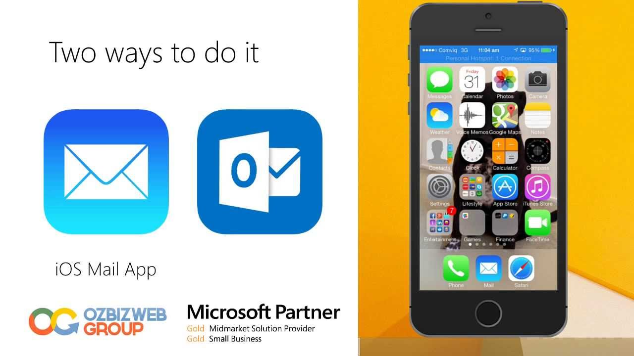 outlook 365 iphone how to setup office 365 email on iphone 12751