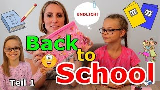 Back to School | TEIL 1 - What's in my school bag?