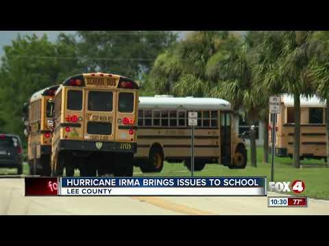 Irma jeopardizing standardized testing