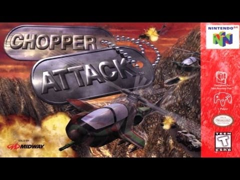 N64 Chopper Attack Mission #3