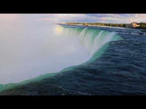 AMAZING NIAGARA FALLS CLOSE UP - 5h - SOUNDS FOR SLEEP, RELAXATION, CONCENTRATION
