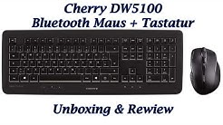 Cherry DW5100 - Maus + Tastatur Bundle mit Bluetooth für 30€ - German/ Deutsch - Unboxing/ Review