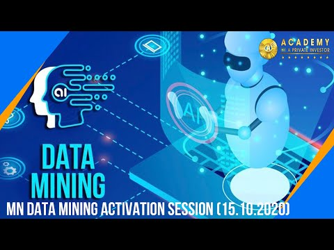 MN Data Mining Activation session (15.10.2020)