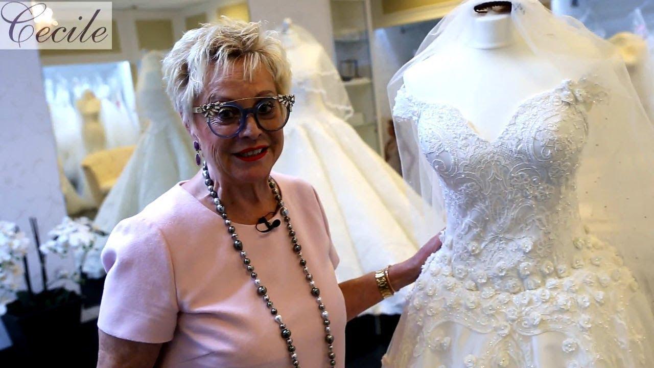 Trend 2018: Prinzessinnen-Brautkleid von türkischem Designer - YouTube