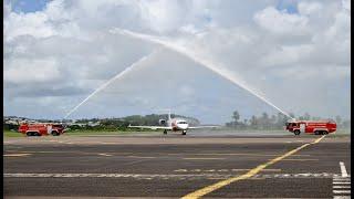 Vol inaugural SKY HIGH - Martinique