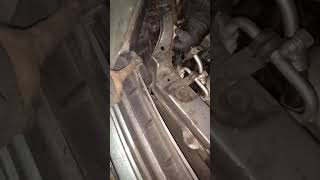 Снятие фары на автомобиле Geely MK