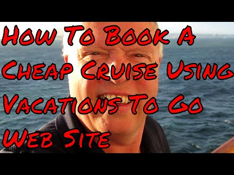 How to Book a Cheap Cruise with Vacations to go Save Cash Booking Your Next Cruise Holiday
