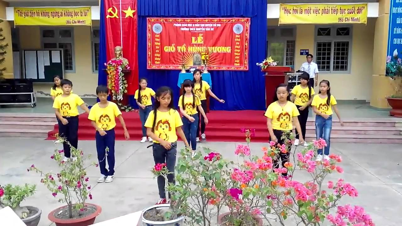 THCS NGUYEN VAN XO   GIO TO HUNG VUONG 16 4 2016   LOP 6 4