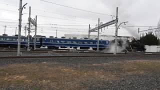 3/26 東武鉄道 南栗橋車両管区 「SL大樹撮影会」 走行シーン