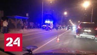Смотреть видео Водитель иномарки насмерть сбил мальчика и девочку - Россия 24 онлайн