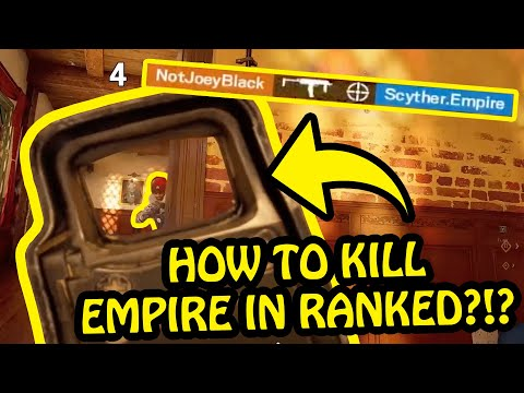 HOW TO KILL PLAYERS FROM EMPIRE IN RANKED?!? - Rainbow Six Siege Highlights