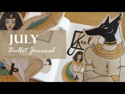 Ancient Egypt | BULLET JOURNAL | July 2018