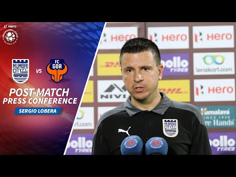 Sergio Lobera - MCFC vs FCG - Post-match PC | Hero ISL 2020-21