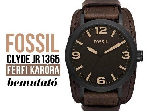 Bemutatjuk  Fossil Clyde JR1365 férfi karóra - Karóra Centrum - YouTube 54f14f46c8
